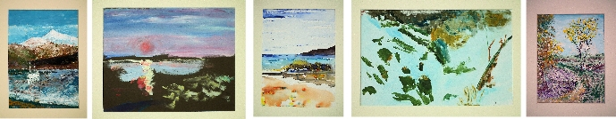 five paintings