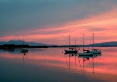 Calm sunset Connel